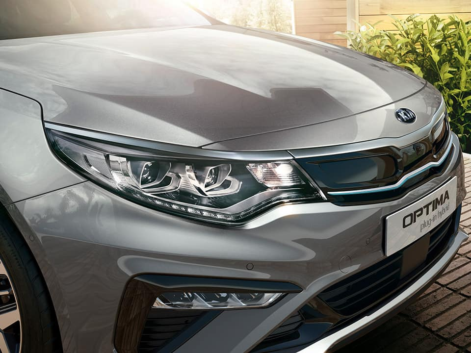 Kia Optima Plug-in Hybrid design