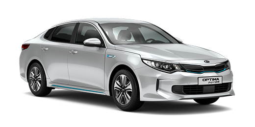 Kia Optima Plug-In Hybrid front