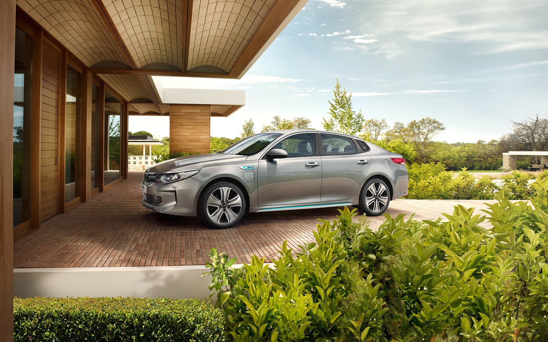 Design de la nouvelle Kia Optima Hybride Rechargeable