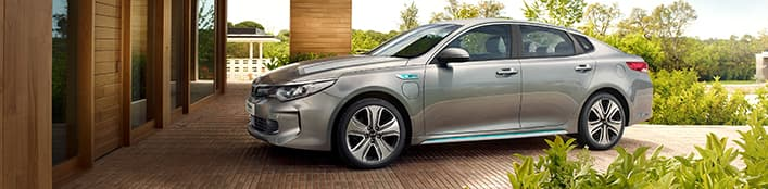 Clients professionnels Kia Optima Plug-in Hybrid