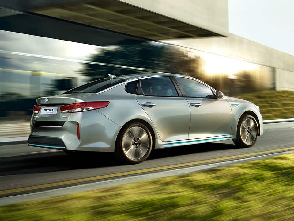Kia Optima Plug-in Hybrid innovatív design