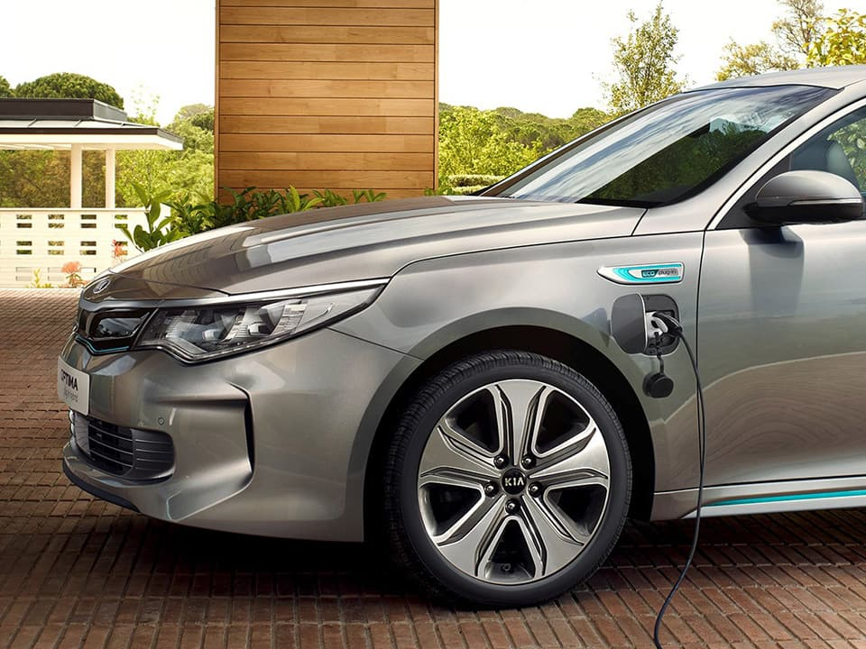 La technologie plug-in hybride de la Kia Optima Plug-in Hybrid