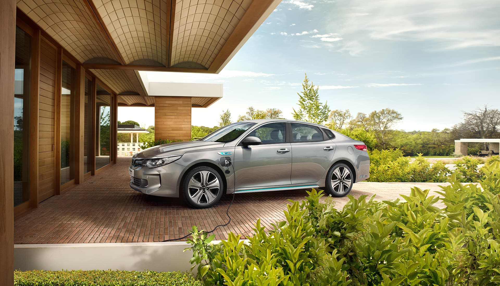 De Kia Optima Plug-in Hybrid