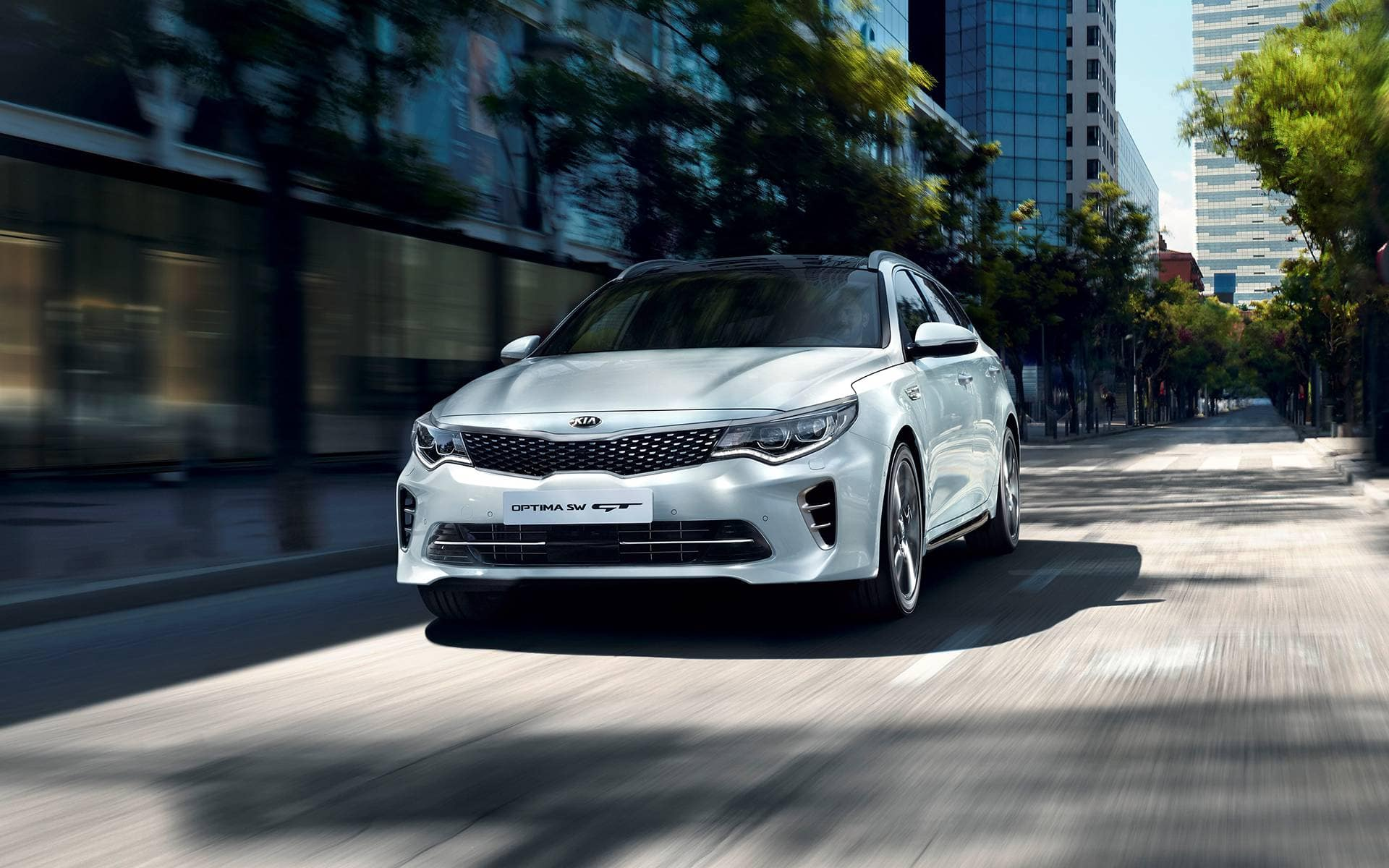 Kia Optima SW GT Highlights