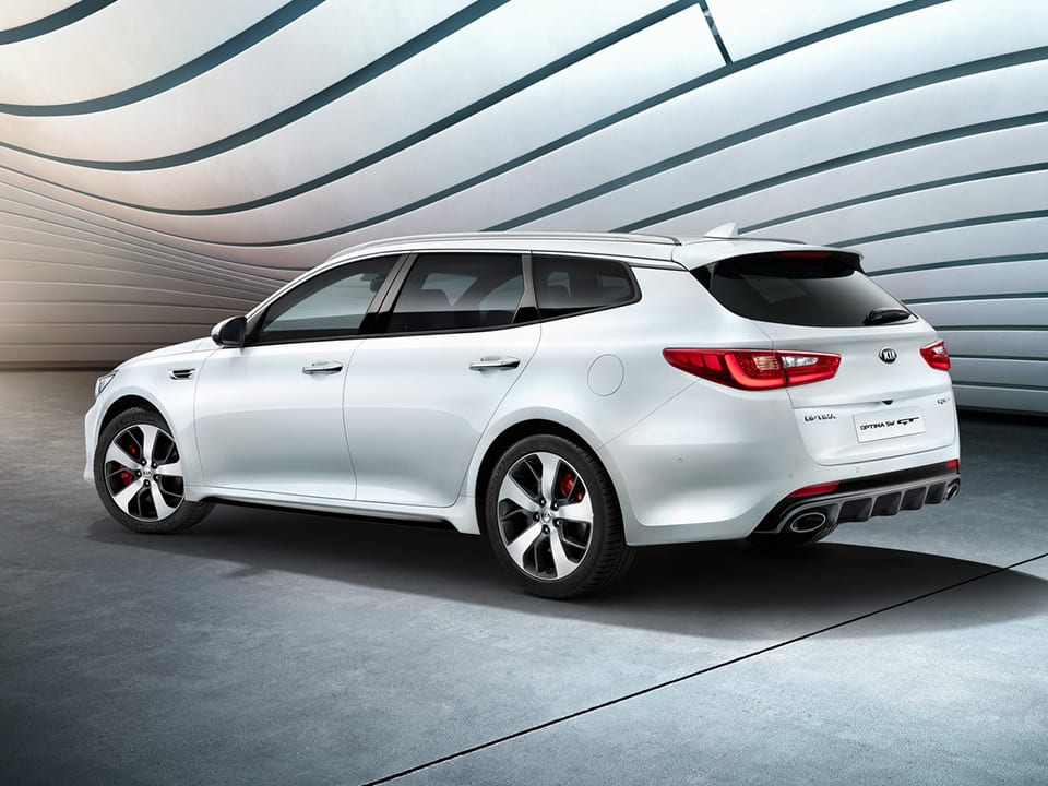 Kia Optima Sportswagon GT features