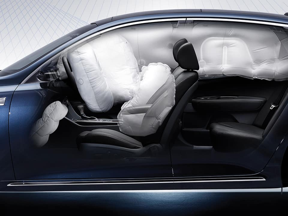 Airbags im Kia Optima SW GT
