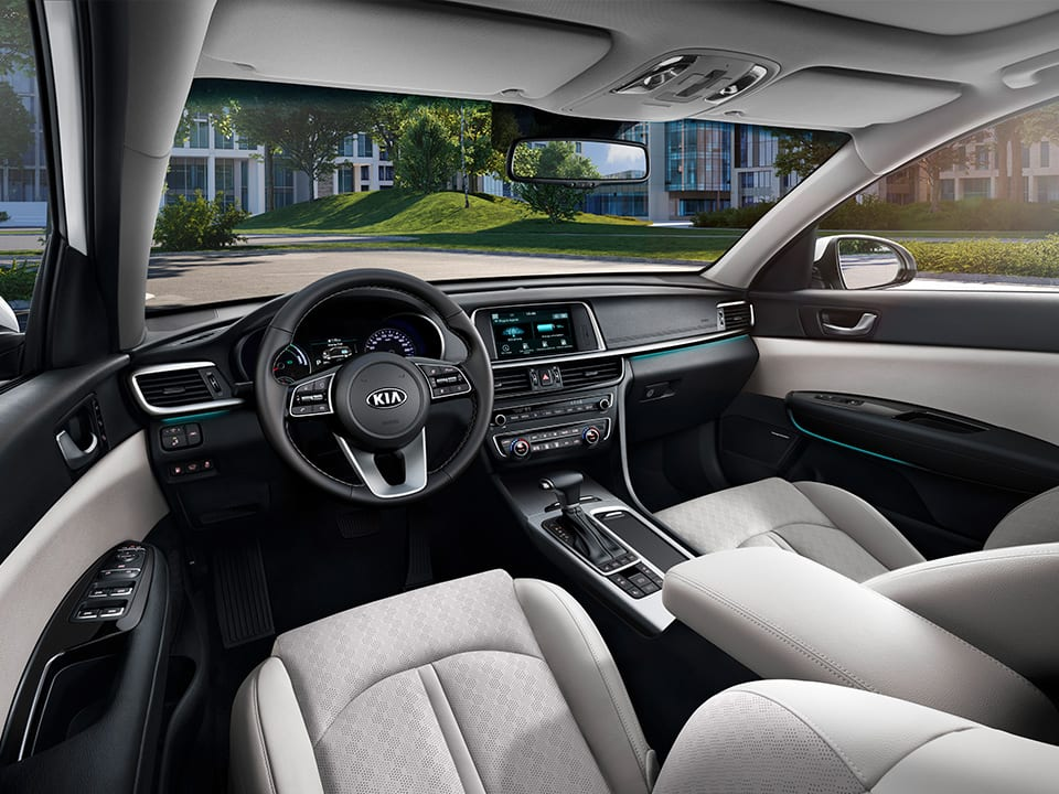 Kia Optima Sportswagon Plug-in Hybrid - interieur