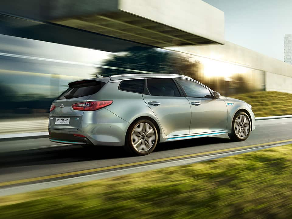 Kia Optima Sportswagon Plug-in Hybrid – rijden