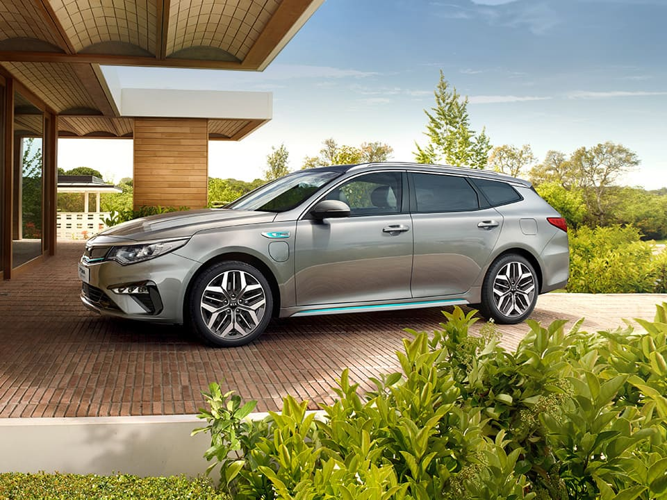 Kia Optima Sportswagon Plug-in Hybrid – design