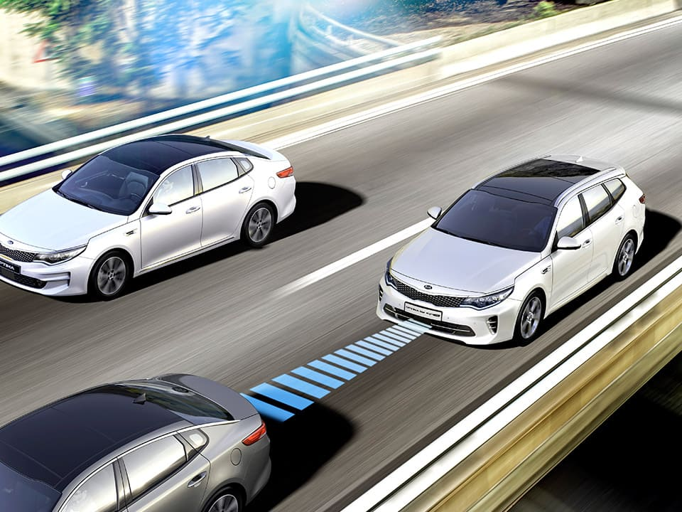 Kia Optima Sportswagon Plug-in Hybrid Adaptiver Tempomat