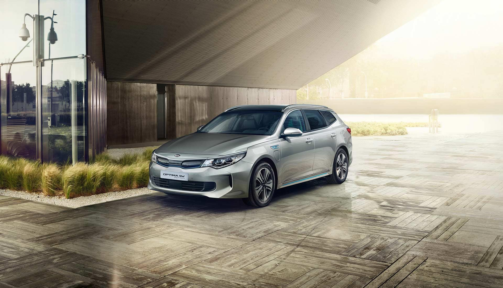 Der Kia Optima Sportswagon Plug-In Hybrid