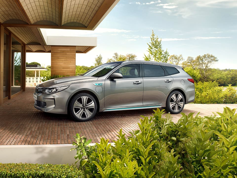 Kia Optima Sportswagon Plug-in Hybrid design