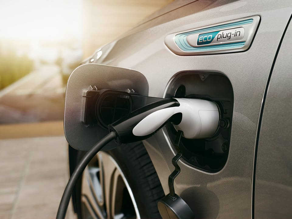 Recharge de la Kia Optima Sportswagon Plug-in Hybrid
