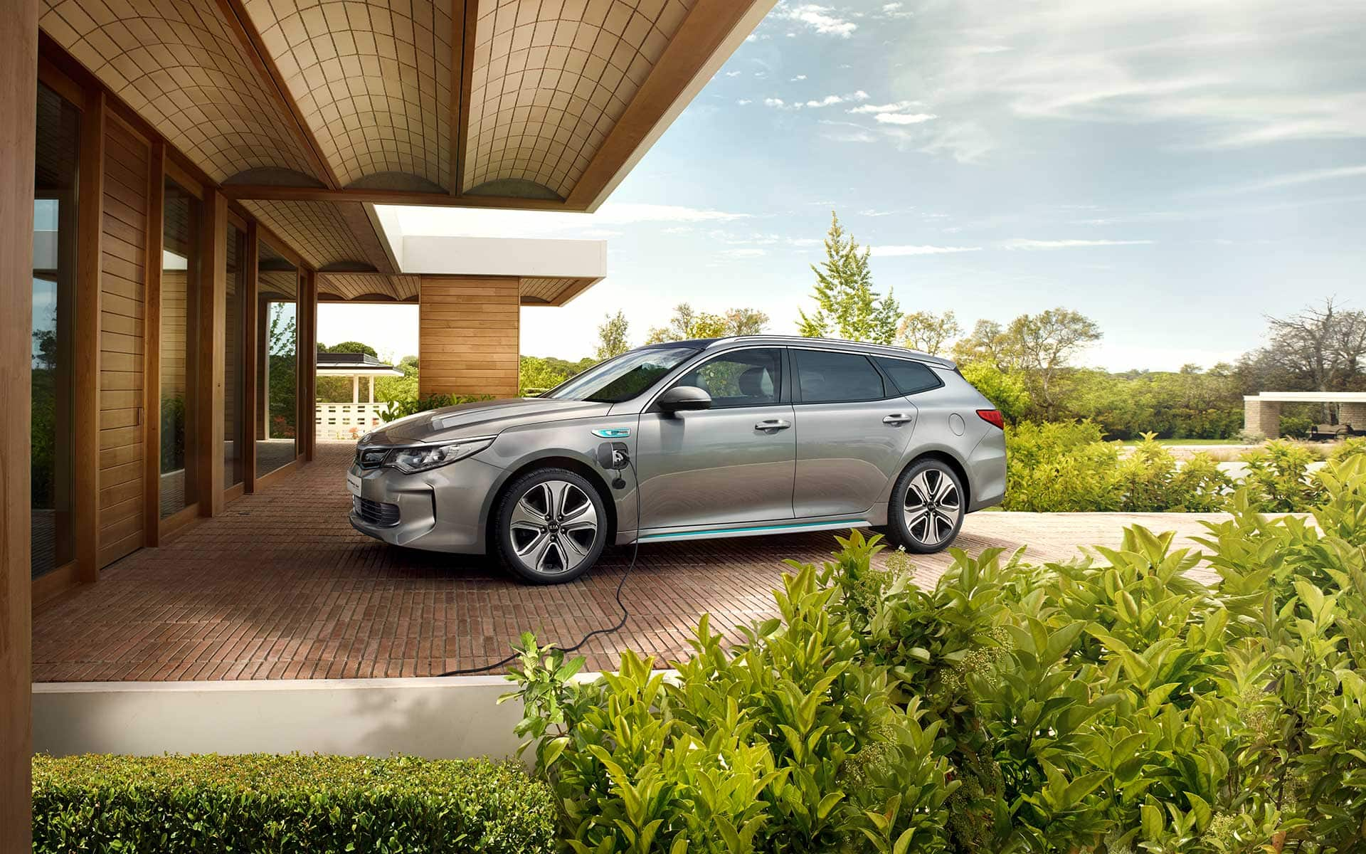 Kia Optima Sportswagon Plug-in Hybrid Außendesign