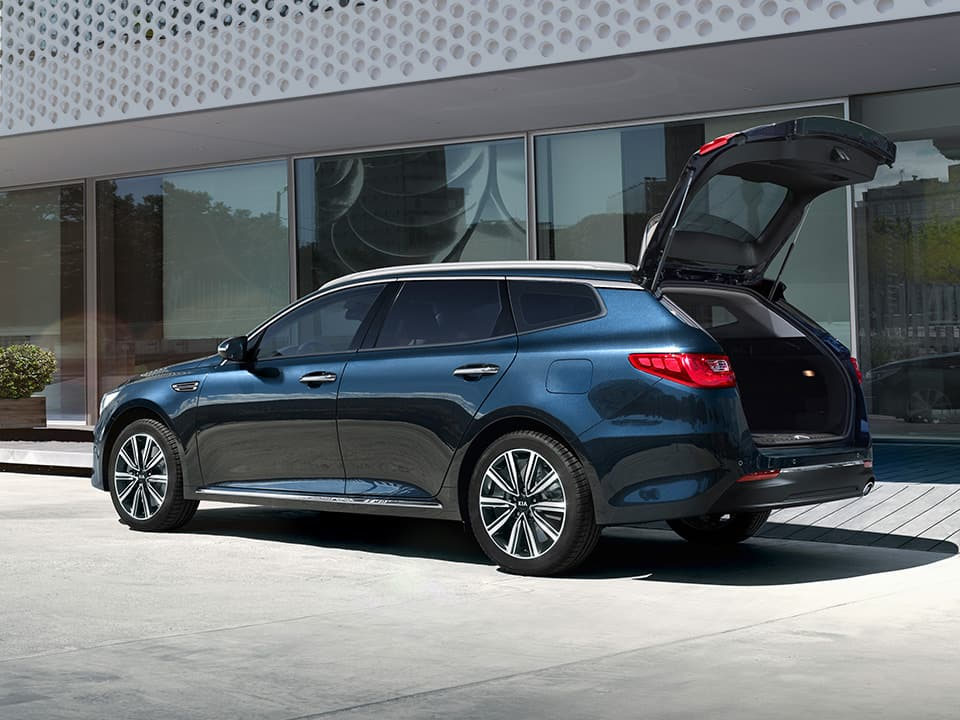 Kia Optima Sportswagon - Handsfree kofferbak openen