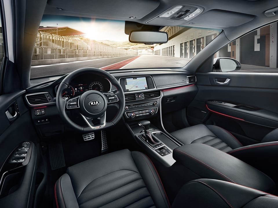 Kia Optima Sportswagon GT-Line interior