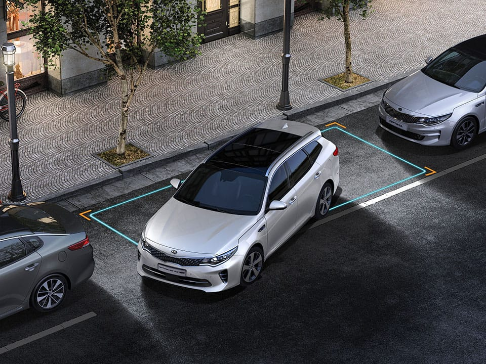 KIA Optima Sportswagon – Blind Spot Detection