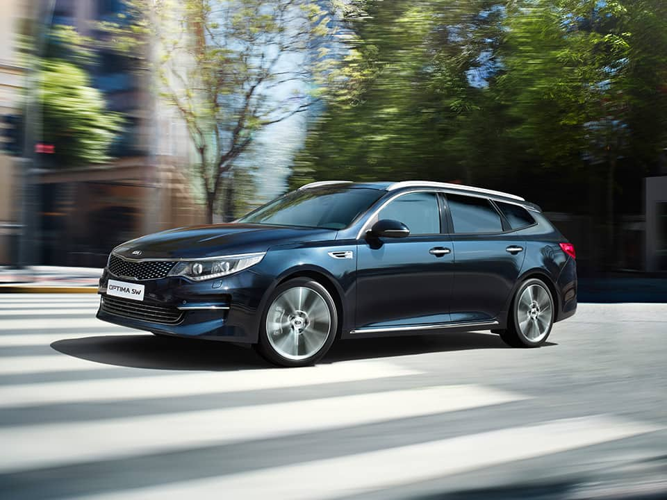Kia Optima Sportswagon innovative design