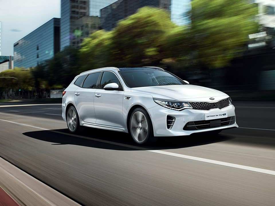 Kia Optima Sportswagon dynamic exterior