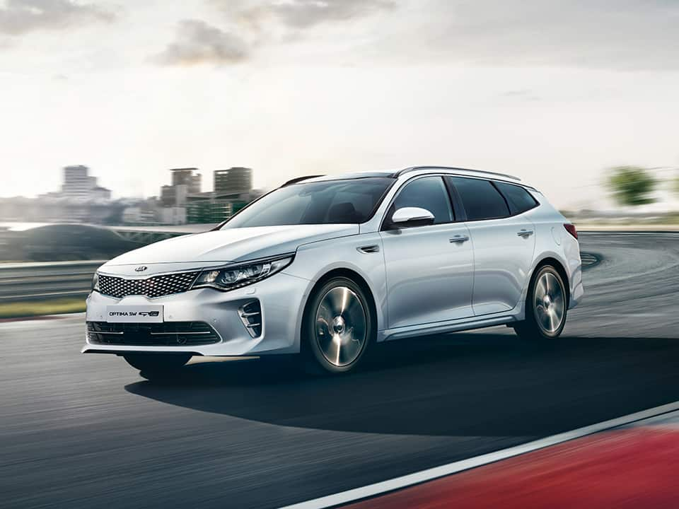 Kia Optima Sportswagon GT-Line sport mode
