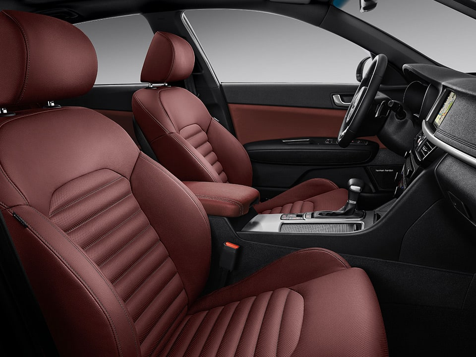 Kia Optima Sportswagon – interieur GT-Line