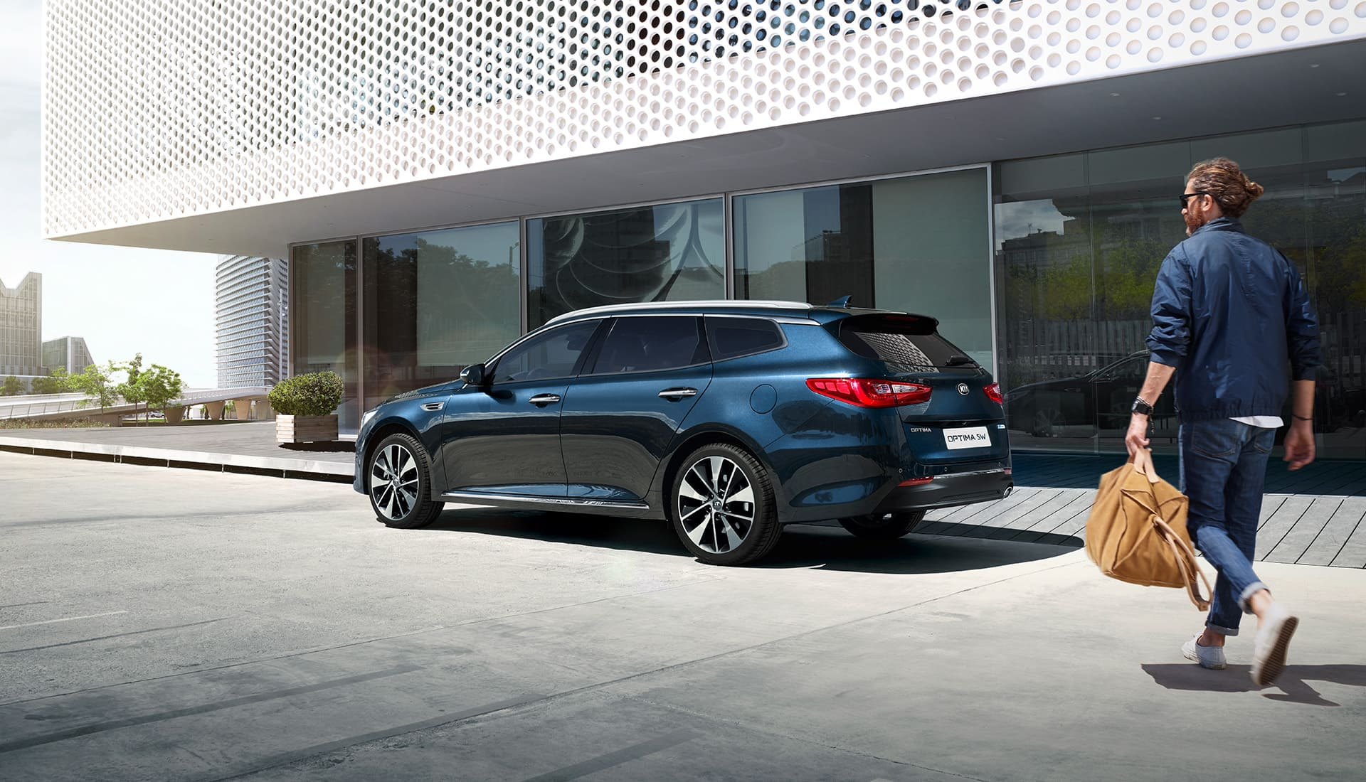 Der Kia Optima Sportswagon.