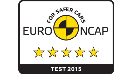 Euro NCAP five-star safety rating