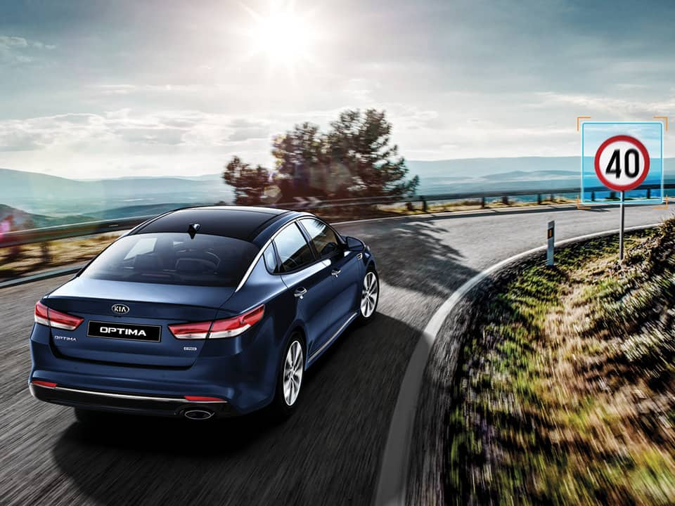 all-new Kia Optima Speed Limit Information Function
