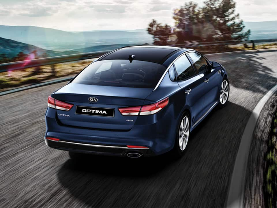 all-new Kia Optima innovative design