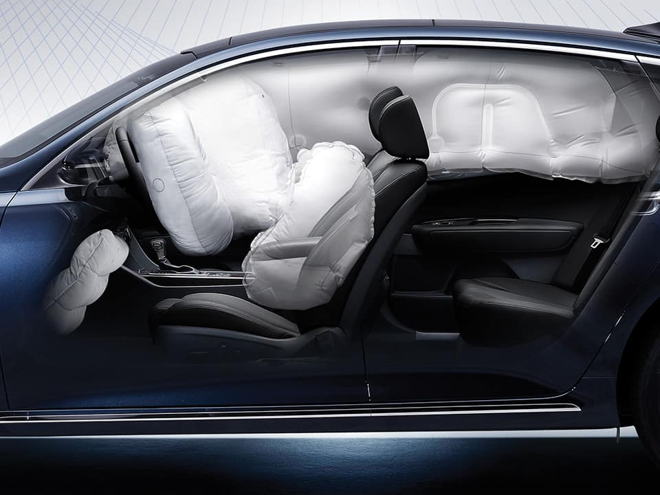 all-new Kia Optima air bags safety