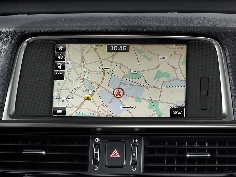 Kia Optima infortainment navigation