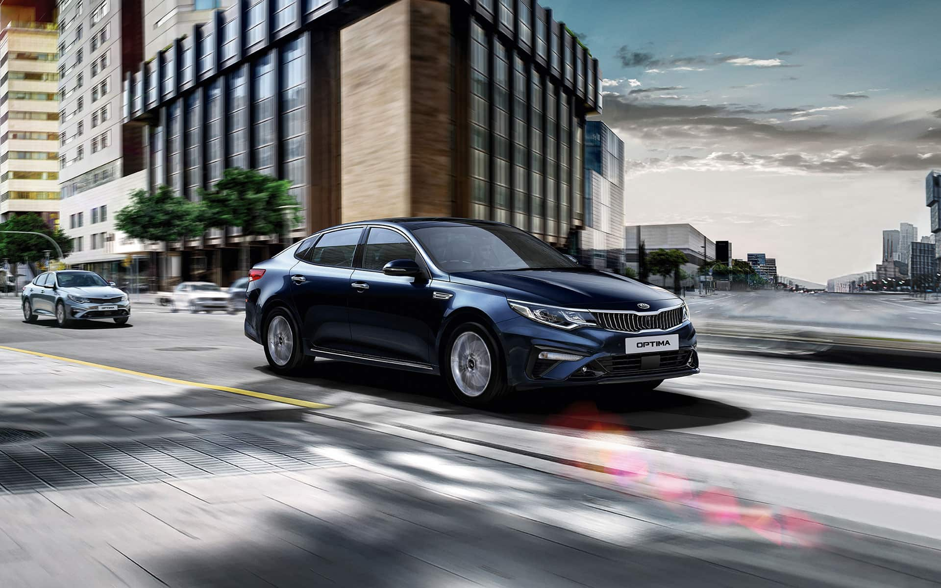 Nová Kia Optima - design
