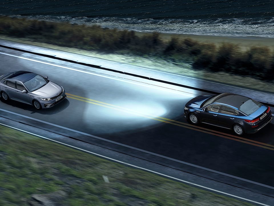 Kia Optima High Beam Assist