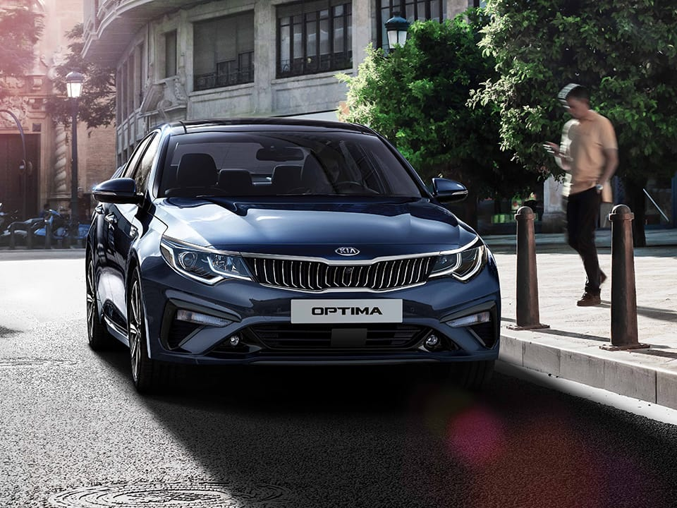 Kia Optima innovative design