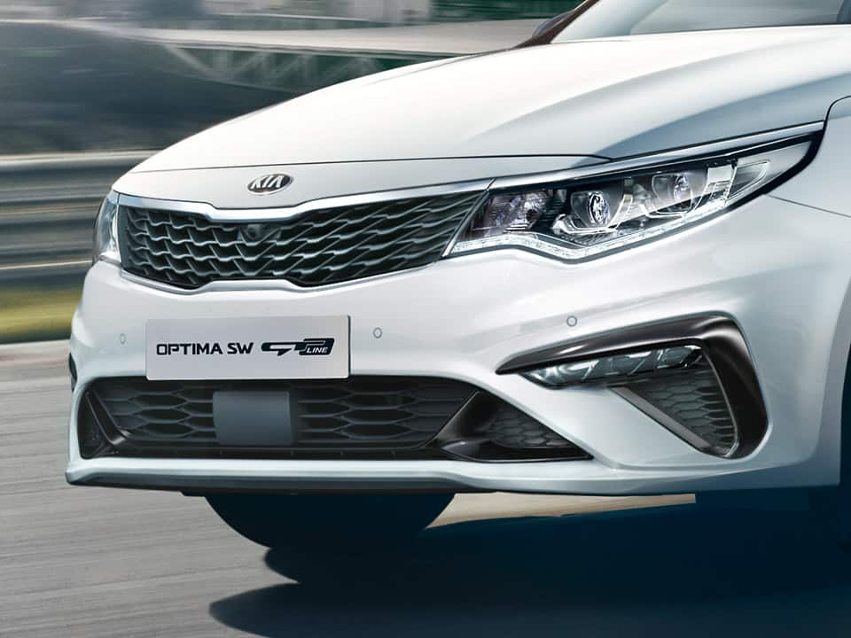 all-new Kia Optima GT Line interior stylish comfort sporty seats