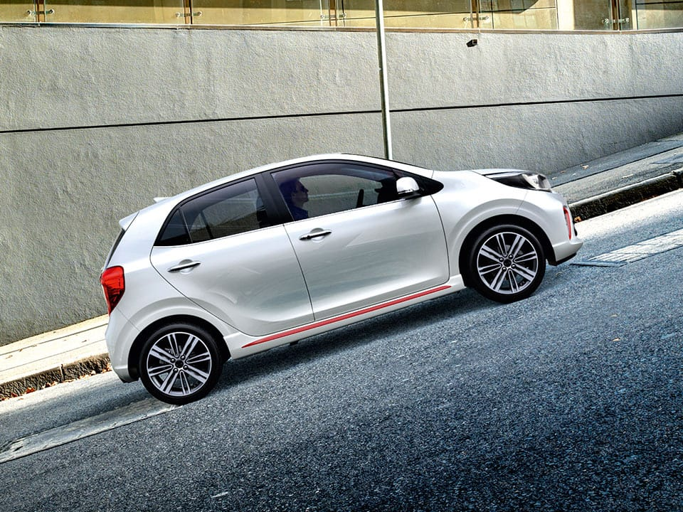 Kia Picanto Hill-start Assist Control