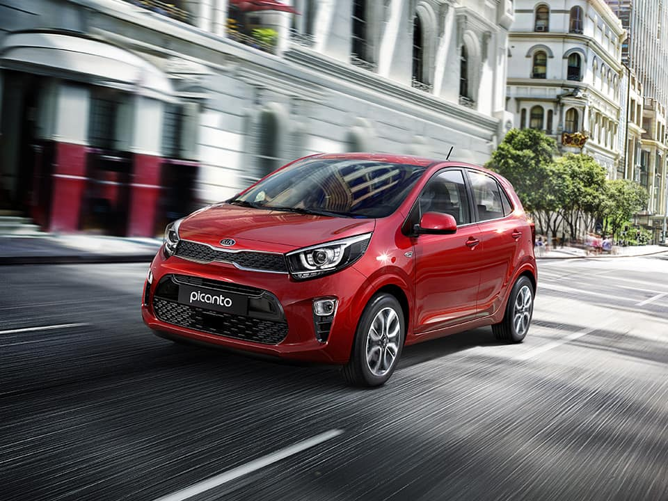 Kia Picanto city driving