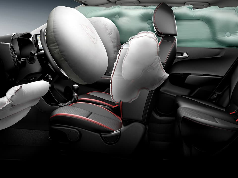 The new Kia Picanto safety features