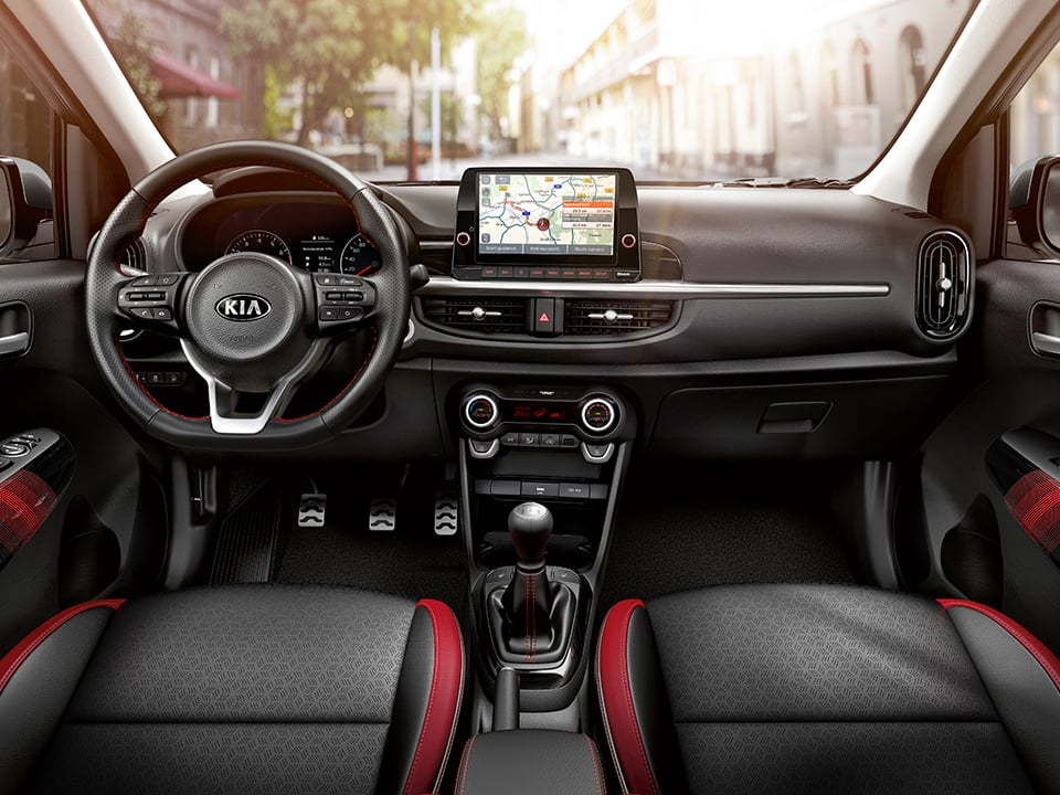 Kia Picanto. Interior exclusivo.