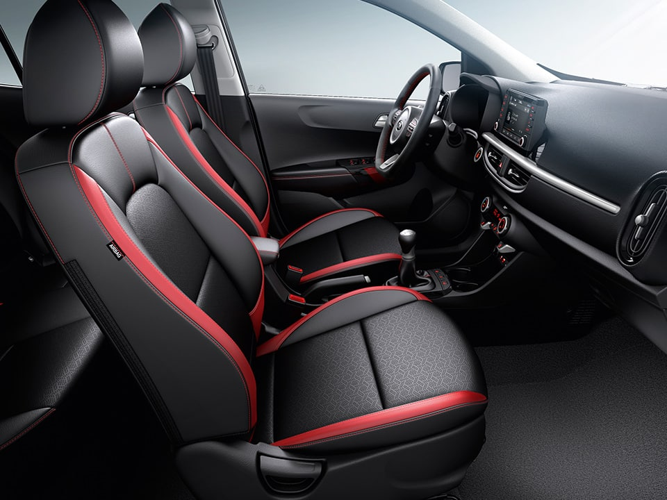 Kia Picanto faux leather seats