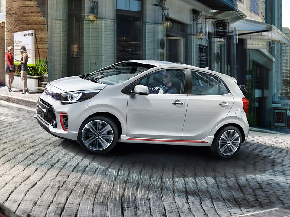 Kia Picanto GT Line dynamic performance and agile handling