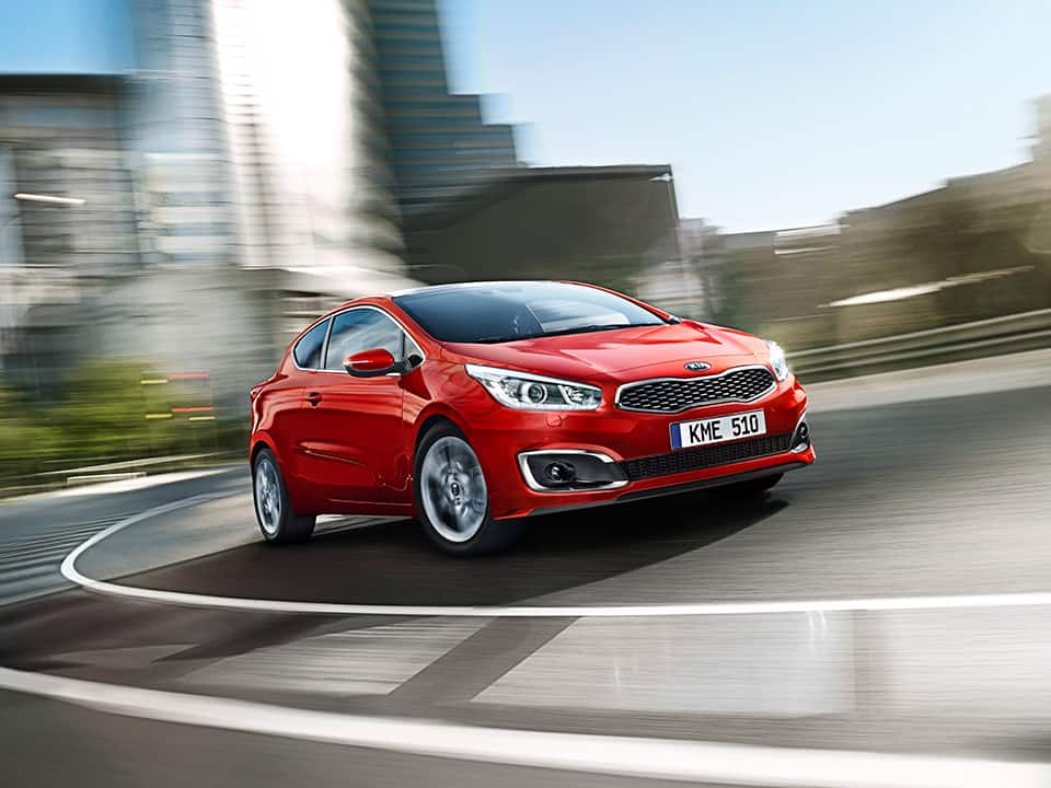Kia pro_cee'd striking design