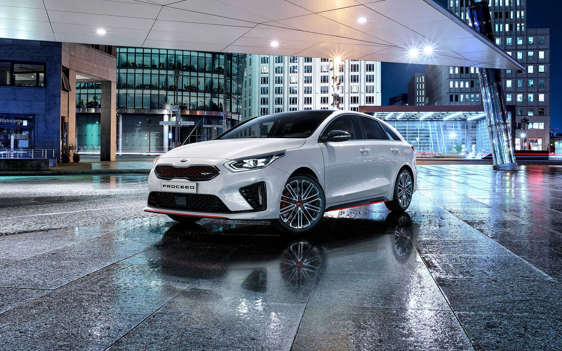 Kia ProCeed GT front view