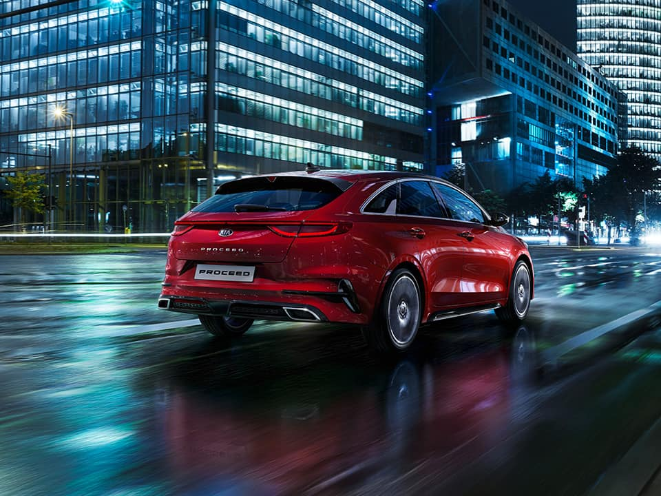 Kia ProCeed in profile