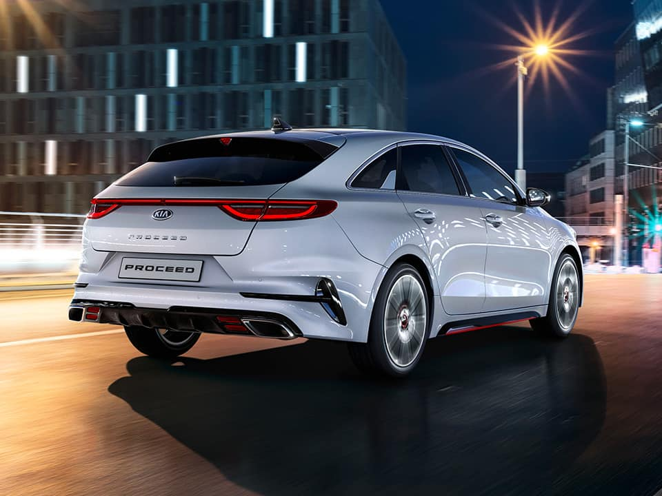 Kia ProCeed GT rear view