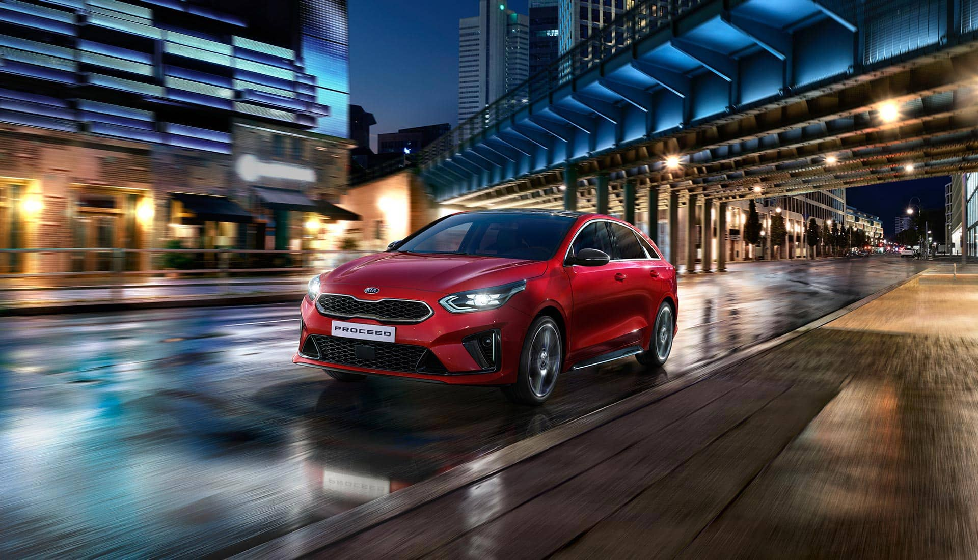 Kia ProCeed – ajaminen
