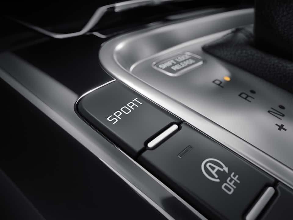 Kia ProCeed Drive Mode Select button