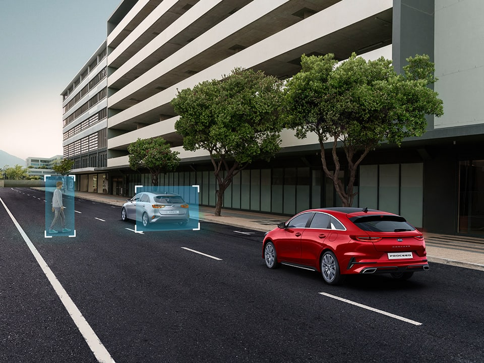 Kia ProCeed – Forward Collision-Avoidance Assist