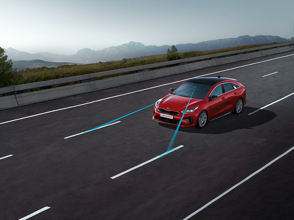 Kia ProCeed – Lane Keeping Assist