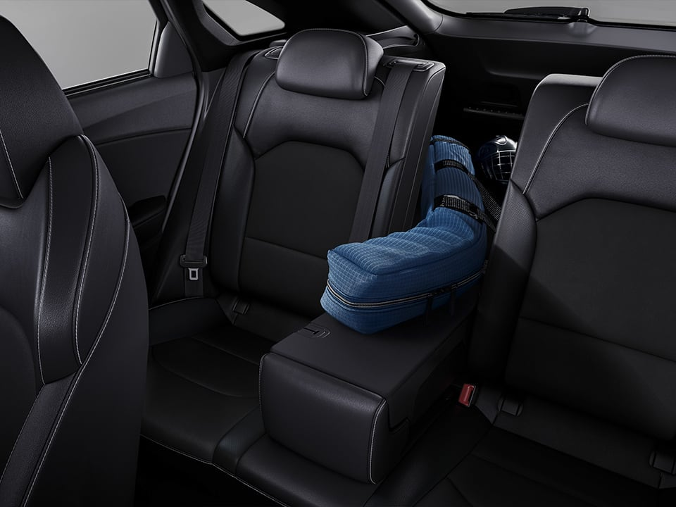 Kia ProCeed folding rear seats
